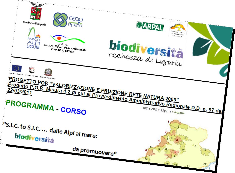 seminario a Triora sulla biodiversità nella provincia di Imperia