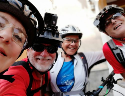 AVML in e-bike, 26 maggio