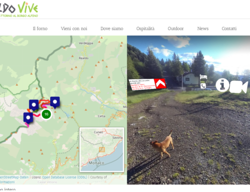 Il Sentiero degli Alpini – nuova modalità di rappresentazione virtuale dei sentieri